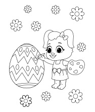 Printable Easter-1 Coloring Pages