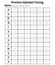 Alphabet Tracing Worksheets a-z Free Printable - 2