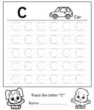 Uppercase Letter C
