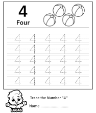 Trace Number 4