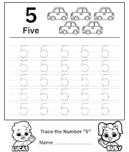 Trace Number 5