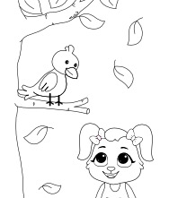 Bird Miscellaneous Coloring Pages