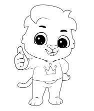 Printable Lucas-2 Coloring Pages