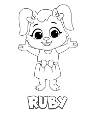 Printable Ruby Coloring Pages