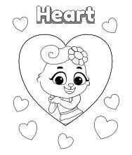 Printable Hearts | Free Printable Heart Shape