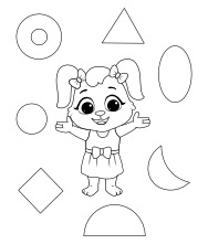 Printable Shapes Coloring Pages
