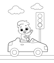 Printable Car Coloring Pages