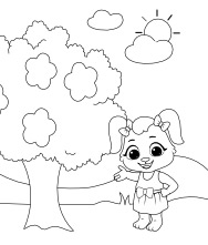 Printable Nature Coloring Pages