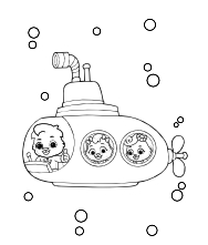 Printable Underwater Coloring Pages