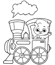 Printable Vehicles Coloring Pages