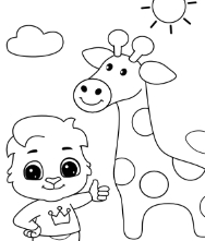 Printable Animals Coloring Pages