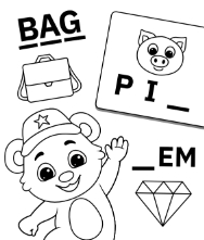 Free Printable Worksheets for Kids - Spelling Practice