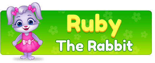 Free Printable Worksheets for Kids - Ruby - The Rabbit