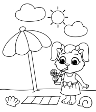 Printable Places  Coloring Pages