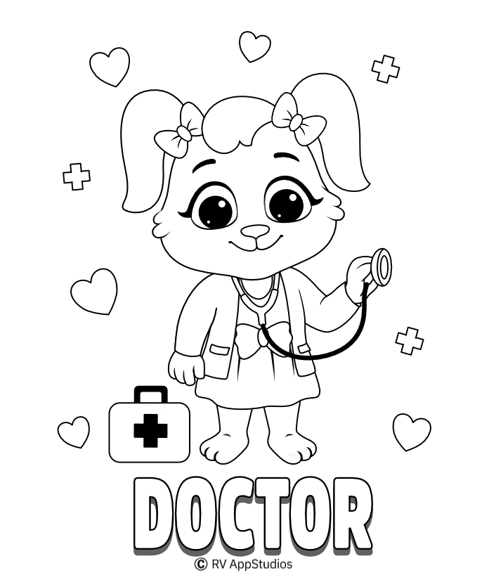 Doctor Coloring Pages and Printables