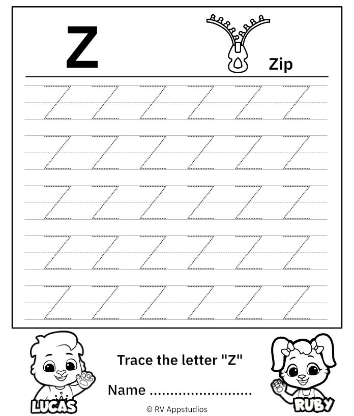 Uppercase Letter Z