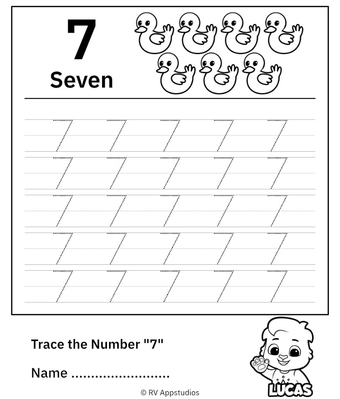 Trace Number 7