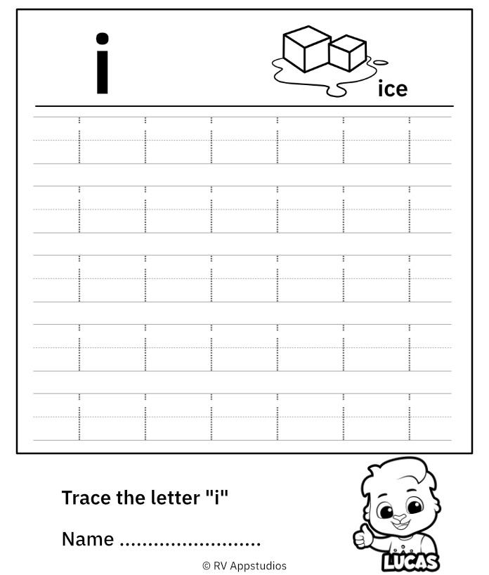 Lowercase Letter i