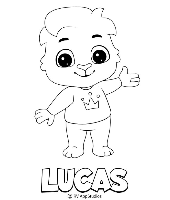 Printable Lucas Coloring Pages
