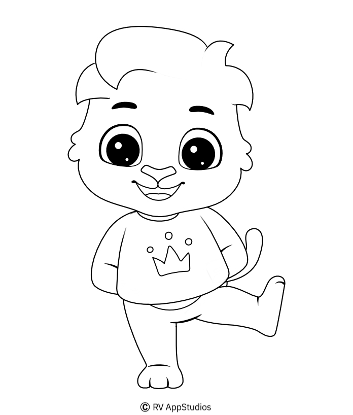 Printable Lucas-1 Coloring Pages