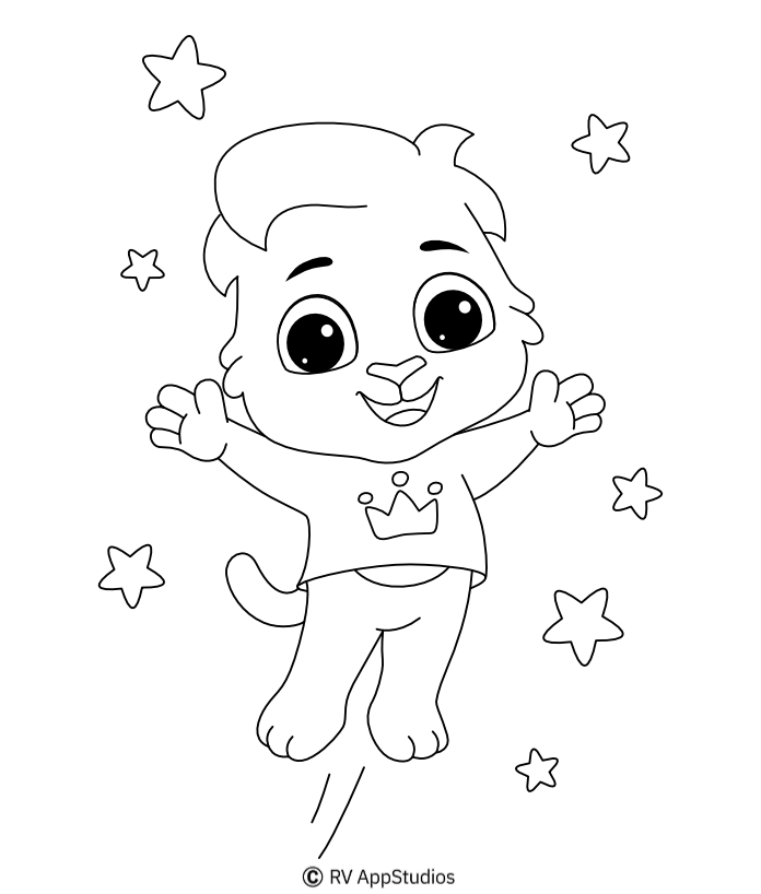 Printable Lucas-3 Coloring Pages
