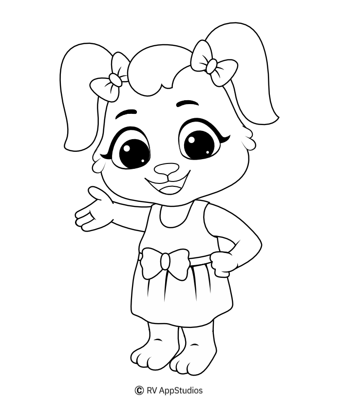 Printable Ruby-1 Coloring Pages