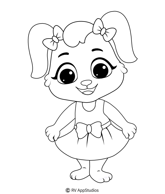 Printable Ruby-2 Coloring Pages