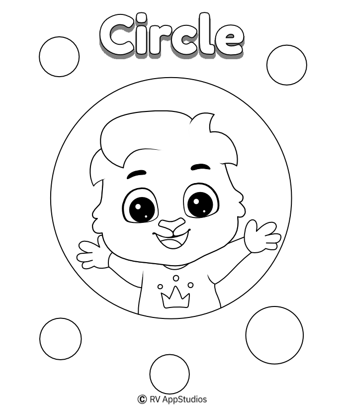 Printable Circle Coloring Pages