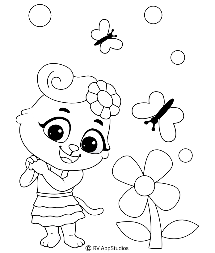 Flowers Coloring Pages | Free Coloring Pages