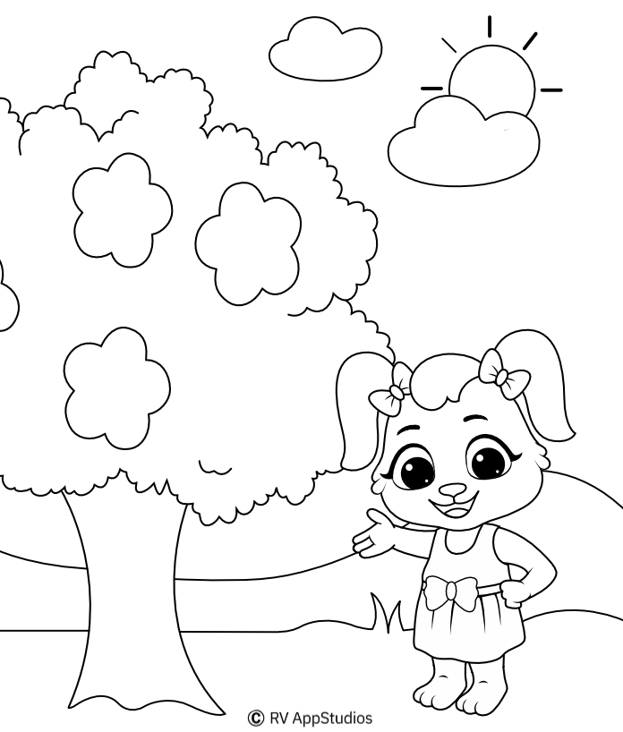 Beautiful Nature Coloring Pages For Kids Free Printables Loved By Kids