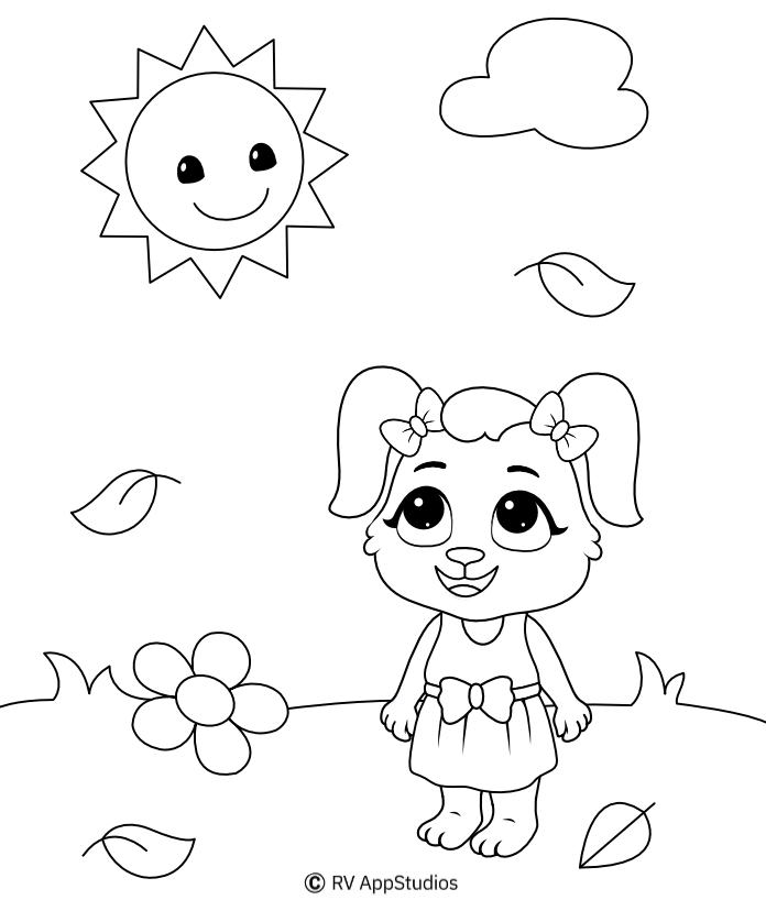 Printable Sun Coloring Pages For Free
