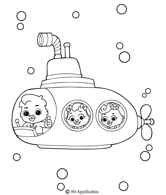 Best Underwater Coloring Pages for Kids | Beautiful Free Printables