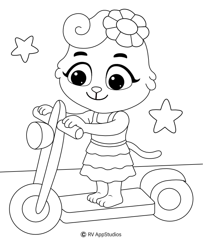 Printable Balance Coloring Pages
