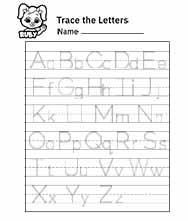 Alphabet letters a z printable Free Alphabet